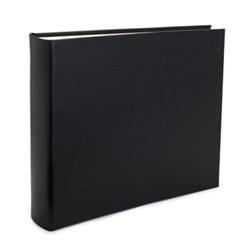 Chelsea Landscape photo album, 31 x 36.5cm, black leather