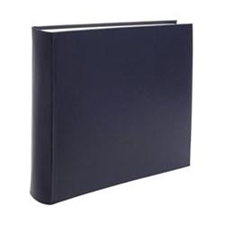 Chelsea Square photo album, 36.2 x 36.2cm, sapphire leather