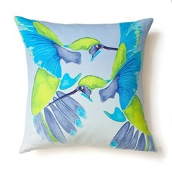 Sipping nectar Square cushion, 45 x 45cm, linen