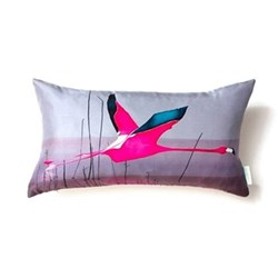 Breaking Dawn Small cushion, 48 x 22cm, silk