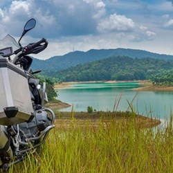 Private ten-day motorcycle tour for two with Samadhi retreats