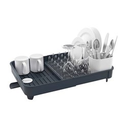 Extend Expandable dish rack, H16 x L36.5 x W32cm, grey