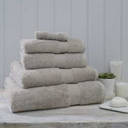 Egyptian Cotton Bath towel, 70 x 125cm, pearl grey