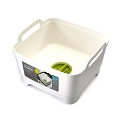 Wash & Drain Washing up bowl, white/green