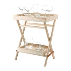 Gin Grand serving set with ash tray, clear