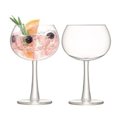 Gin Pair of balloon glasses, 420ml, clear