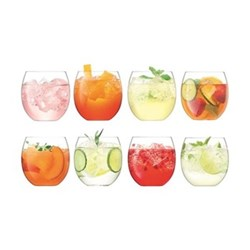 Balloon Set of 8 tumblers, 450ml, clear