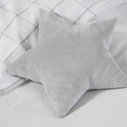Star Cushion, W28 x L35cm, white