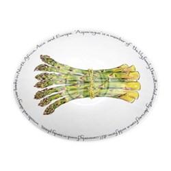 Asparagus Oval bowl, 27cm