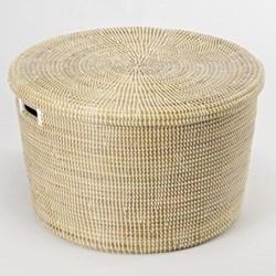 African Storage basket, 20 x 32cm, natural