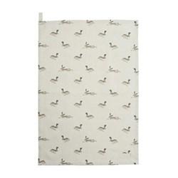 Hare Tea Towel, 45 x 65cm