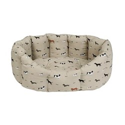 Woof! Pet bed - large, 82 x 61.5 x 31cm, removable cushion