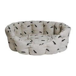 Labrador Pet bed - large, 82 x 61.5 x 31cm, removable cushion