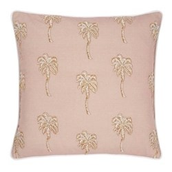 Palmier Cushion, W45 x L45cm, taupe