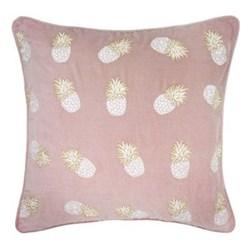 Ananas Cushion, 45 x 45cm, velvet/soft lilac