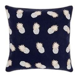 Ananas Cushion, W45 x L45cm, indigo