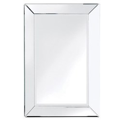 Segovia Plain Venetian mirror, 80 x 55cm