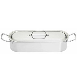 Clearview Fish poacher, 45cm, stainless steel