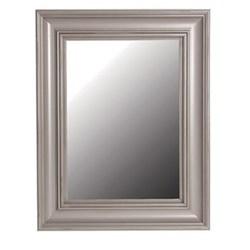 Mirror, 92 x 72cm, distressed grey