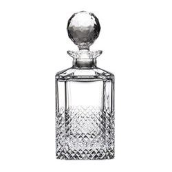 Tiara Square spirit decanter