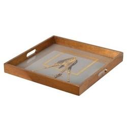 Giraffe Square tray, 40 x 40cm