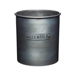 Industrial Kitchen Utensil holder, metal