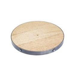 Industrial Kitchen Trivet, 20cm, wood
