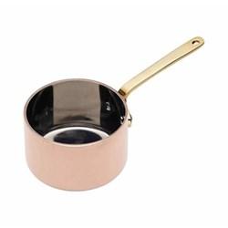 Mini saucepan, 6.5cm, copper finish