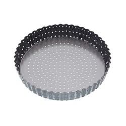 Round flan / quiche tin, 25 x 3cm, fluted