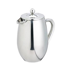 Le'Xpress Three cup cafetiere, 350ml, double walled stainless steel