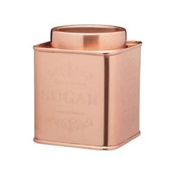 Le'Xpress Sugar tin, copper finish