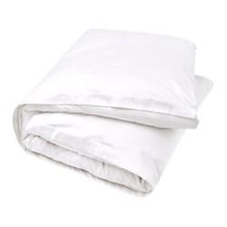 500TC Cotton Sateen Super king size duvet cover, 260 x 220cm, snow