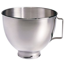 Polished bowl, 4.5 litre, stainless steel