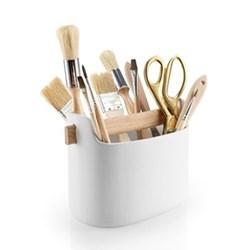 Toolbox Organiser, H15.5 x W22.5 x D12.5cm, white