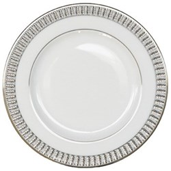 Plumes Platine Butter plate, 16cm