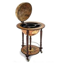 Zoffoli - Da Vinci Bar globe, 40cm, antique rust