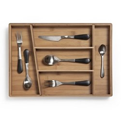 Stockholm Cutlery tray, 44 x 31 x 4cm, bamboo