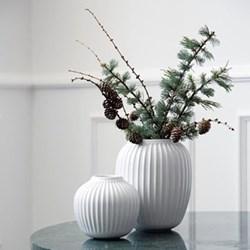 Hammershoi Vase, H21 x W16.5cm, white