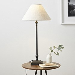 Cowley Table lamp, 60cm, black