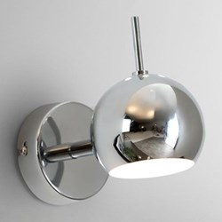 Austin Wall lamp, chrome