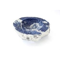 Casca Bowl, indigo silver