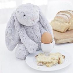 Bashful Bunny Soft toy, 31 x 13cm, grey