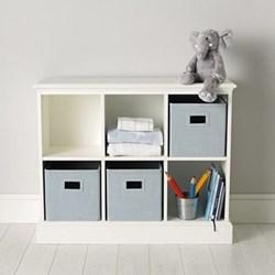 Classic Storage unit, 83 x 102 x 35cm, white