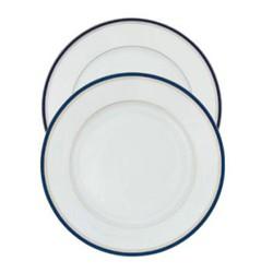 Nuit Bleue Platine Dessert plate, 22cm