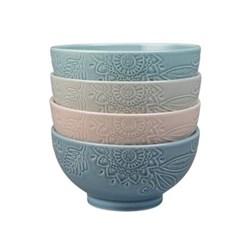 Monsoon - Gather Set of 4 mixed bowls, medium