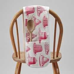 Jelly & Cake Double oven gloves, 20 x 84cm