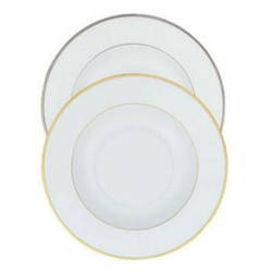Orsay Or Large rim soup plate, 24cm