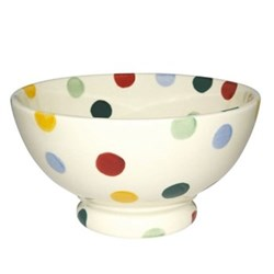 Polka Dot French bowl, 13.5cm