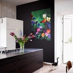 Disney - Alice Flowers Wall decoration, 80 x 100cm