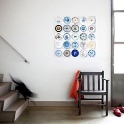 Art - Riijksmuseum Plates Wall decoration, 25 cards (20 x 20cm)